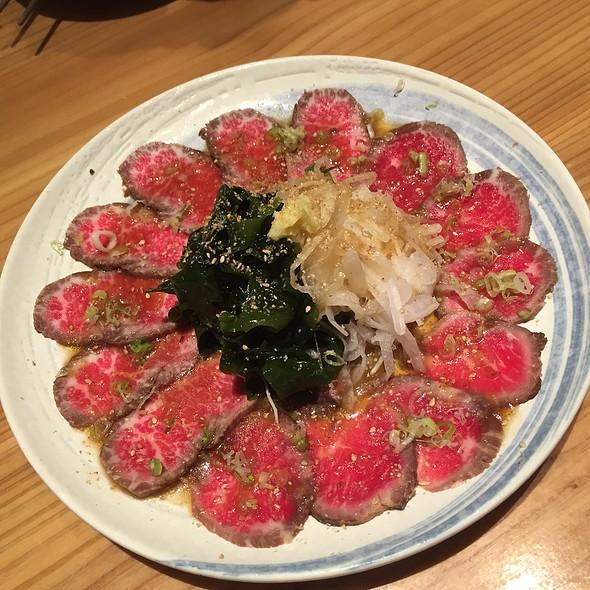 Beef Tataki @ Sasano Sushi House Shanghai