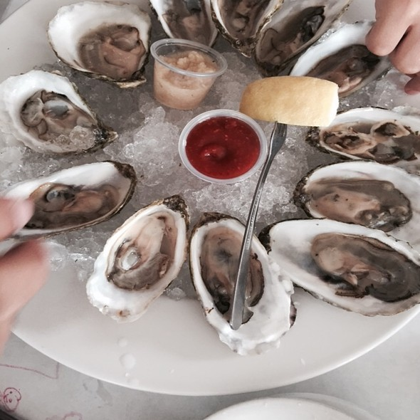 Oysters on the Half Shell @ The Oyster Company
