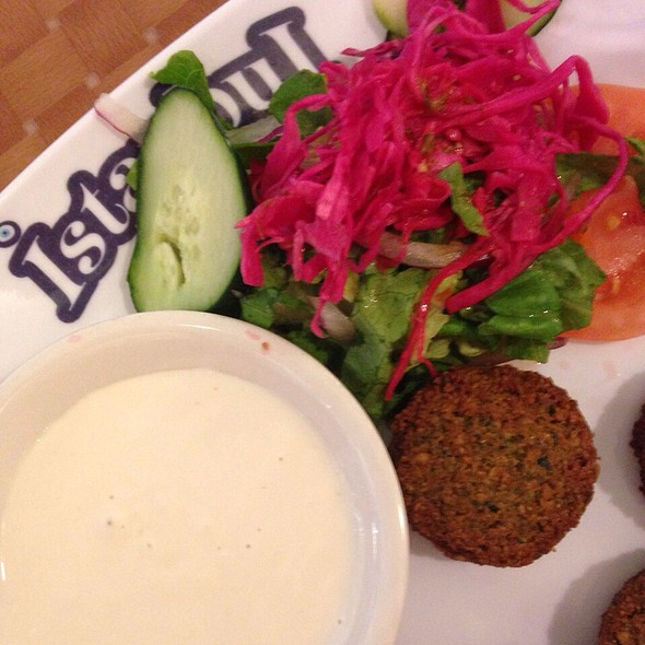 Falafel @ Istanbul Grill