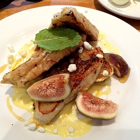 Goat Cheese And Fig French Toast
