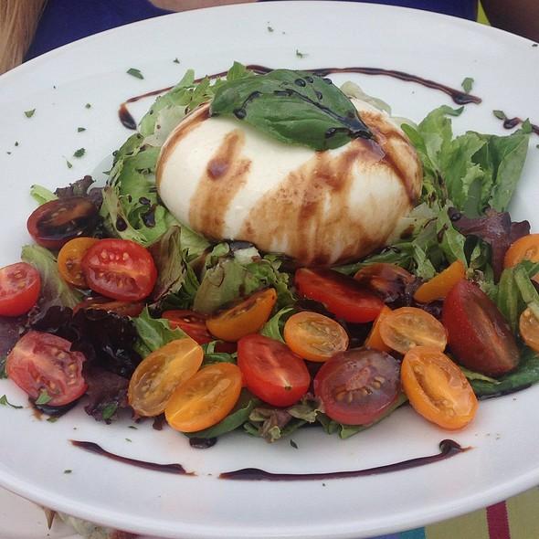 Barrata And Tomatos