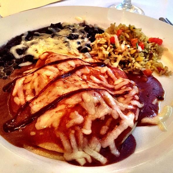 Layered Enchiladas - Z'Tejas Austin 6th St, Austin, TX