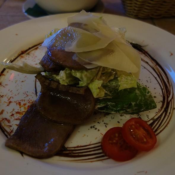 Tongue Salad with Aioli Sauce @ La Mia Italia
