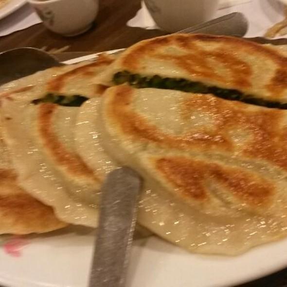 Leek And Chive Stuffed Pancake