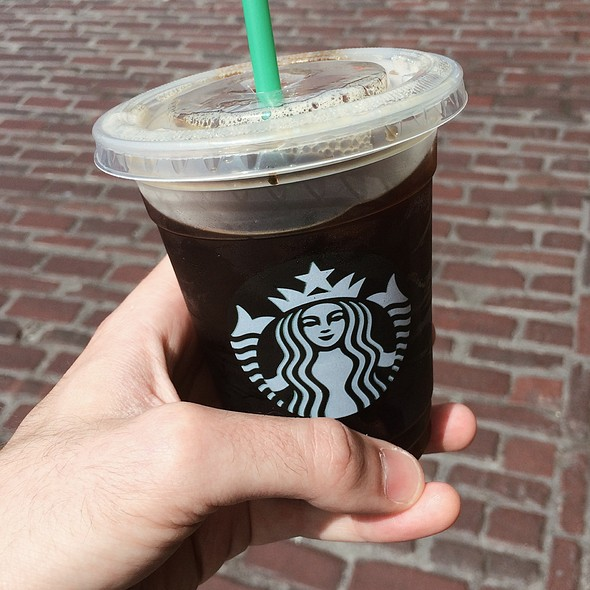 Iced Coffee @ Starbucks