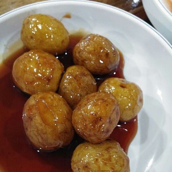 Sweetened Potato Marbles (Korean Appetizer)