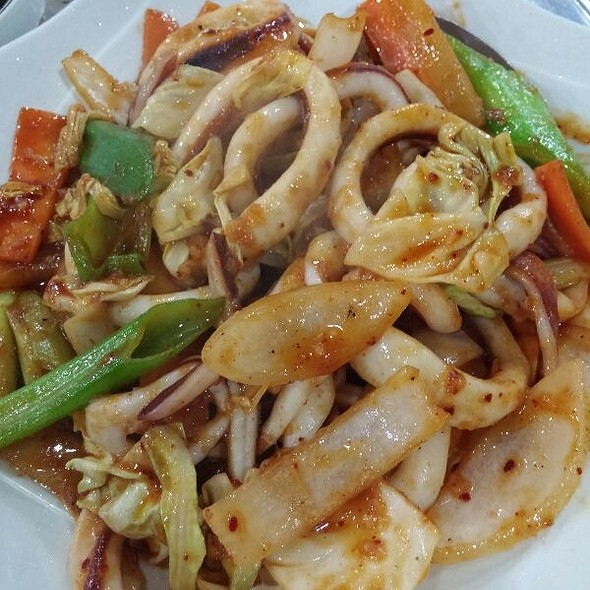 Spicy Pan Fried Squid