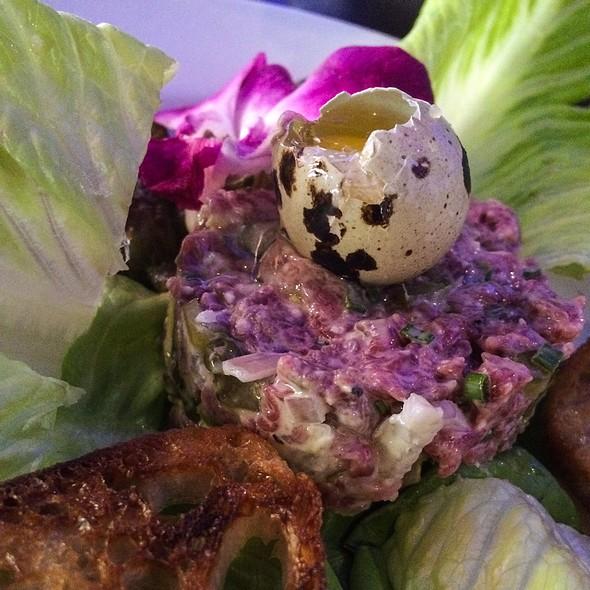 steak tartare - Chandlers Steakhouse, Boise, ID
