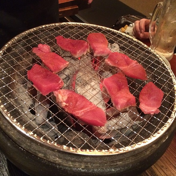 Grilling Tuna