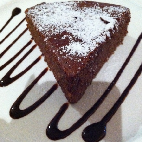 Hazelnut Chocolate Cake @ The Book Cafe