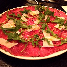 Beef Carpaccio - RPM Italian, Chicago, IL