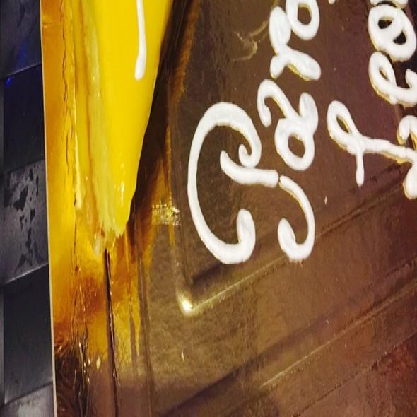 Birthday cake @ GAIJIN SUSHI BAR