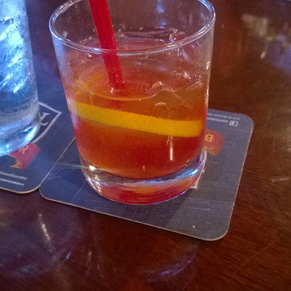 Orange Chocolate Old Fashioned @ Judge Roy Bean Saloon