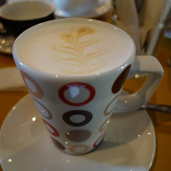 Baked Milk Latte with Honey @ Coffee Bar Bonch