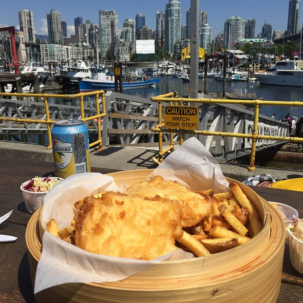 Halibut Fish and Chips @ Go Fish Ocean Emporium