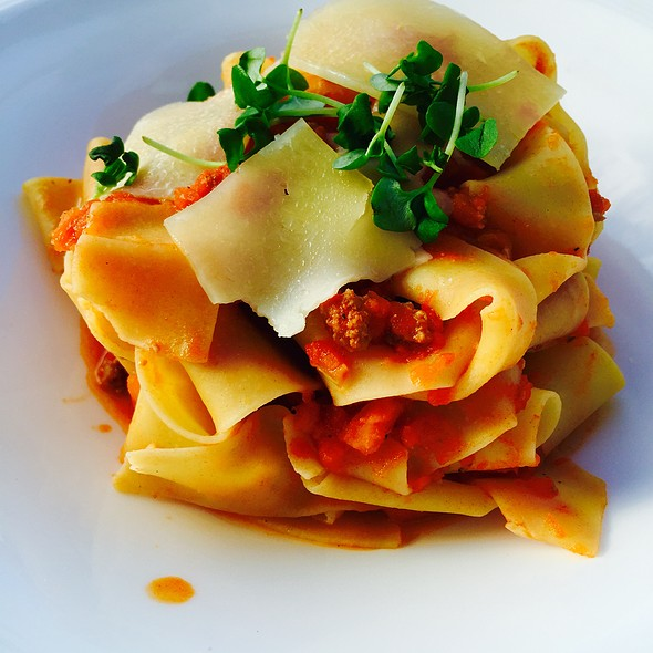Pappardelle Bolognese - THE Blvd - Beverly Wilshire Hotel, Beverly Hills, CA