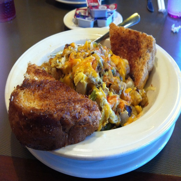 Breakfast Skillet @ Plaza Cafe & Grill