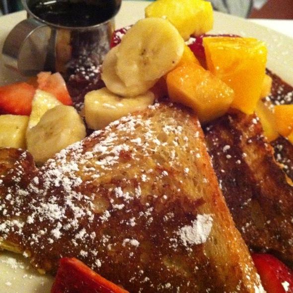 Challah French Toast - Cornelia Street Cafe, New York, NY