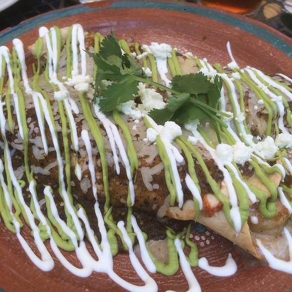 Shrimp And Mango Enchiladas! @ Sideboard Restaurant