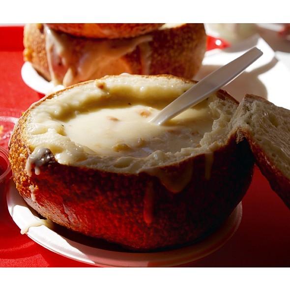 Clam Chowder Bread Bowl @ Chowder's