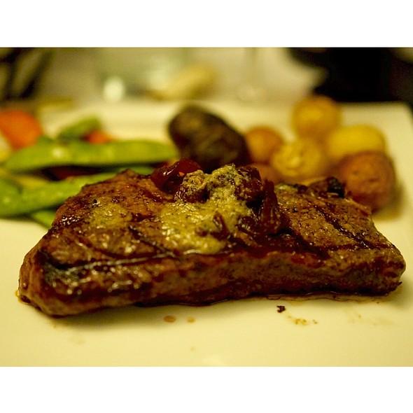 Seared Wagyu Sirloin - Scoma's Restaurant, San Francisco, CA
