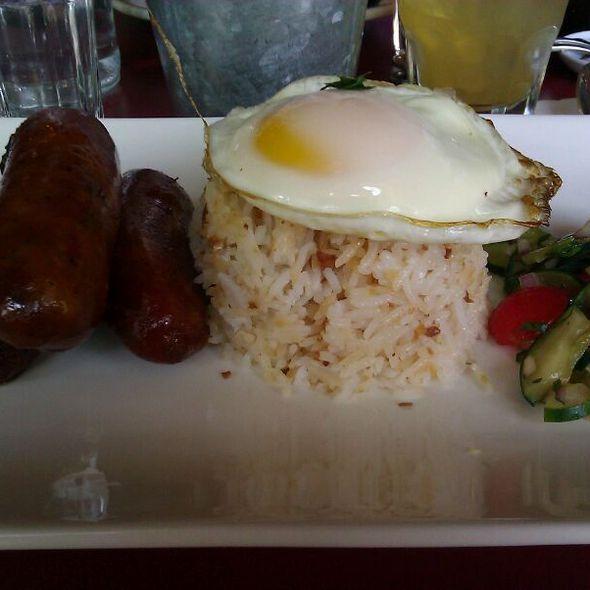 Longsilog Filipino Breakfast @ Maharlika Filipino Pop-up Brunch @ Léon