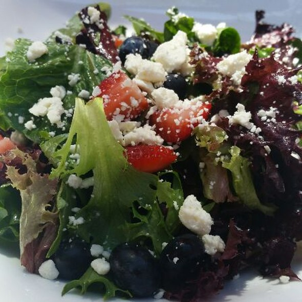 Strawberry Salad - Gardens of Avila Restaurant, San Luis Obispo, CA