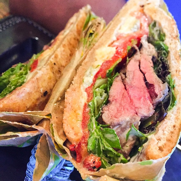 Grilled Prime Steak Panini @ Fresh To Order