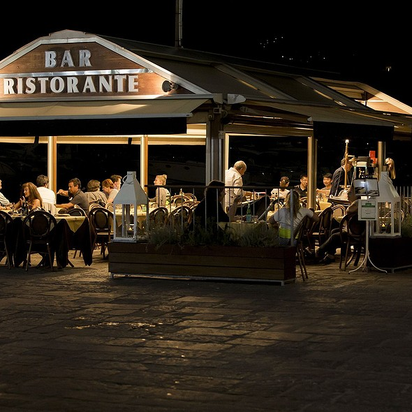 Our wonderful terrace overlooking the sea and the suggestive views. @ Ristorante Ruccio
