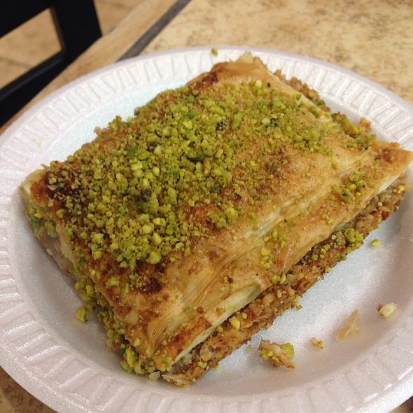 Baklava @ Petra Mediterranean Pizza and Grill