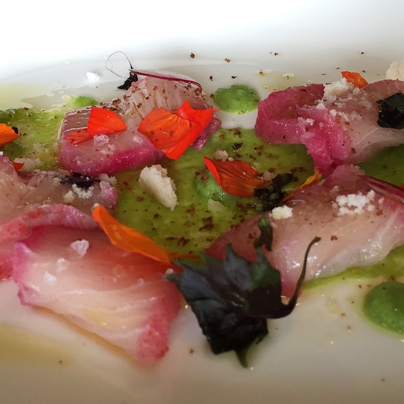 Yellowfin Crudo - Bistro C.V., Steamboat Springs, CO