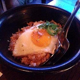 Kimchi Fried Rice - Sampan - Philadelphia, Philadelphia, PA