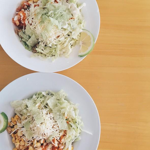 Mango Bbq Chicken Burrito Bowl @ Faburrito