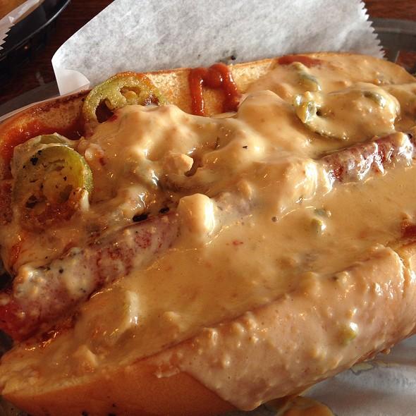 The Backyard Footlong Hot Dog @ Daytona Taproom