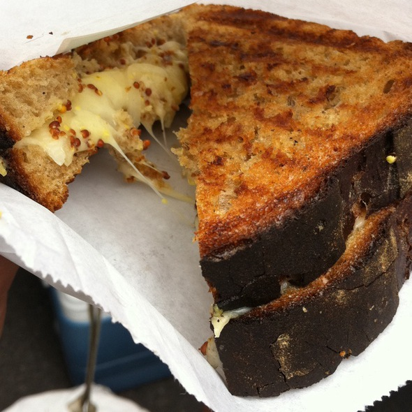 Grilled Cheese W/A Twist  @ Milk Truck