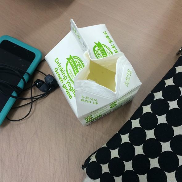 Drinking Yoghurt Green Grape