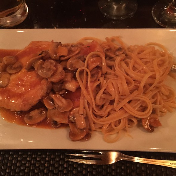 Chicken Marsala - Ceci Italian Restaurant, New York, NY