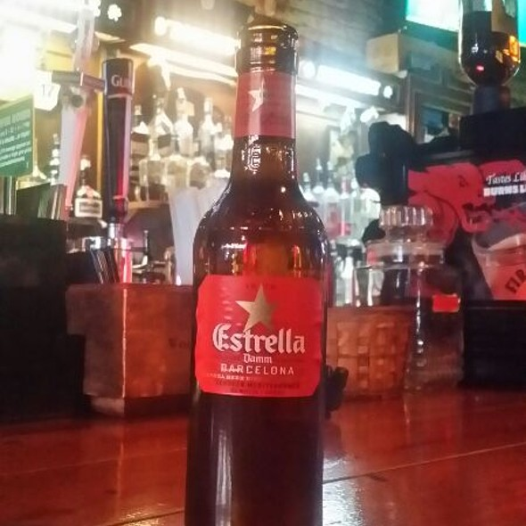 Estrella Damm Beer @ O'Rourkes Neighborhood Pub