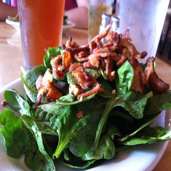 Spinach and Smoked Bacon Salad @ Local Harvest Cafe & Catering