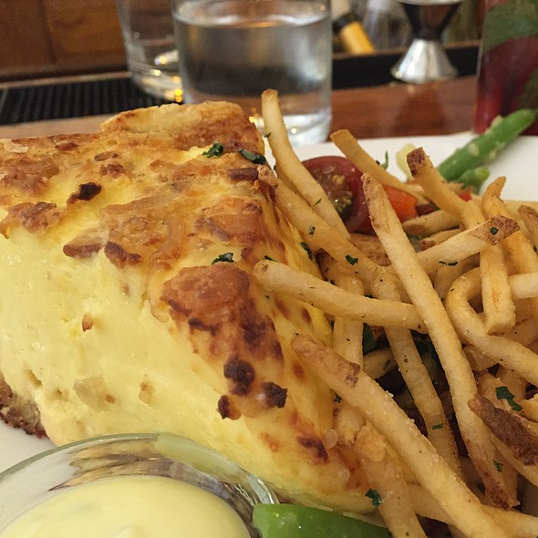 Quiche Lorraine @ the girl & the fig
