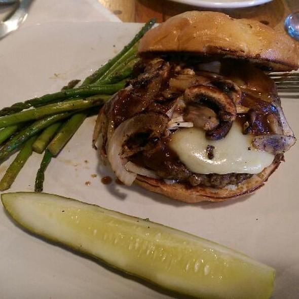 Alpine Burger (With Swiss) @ Choice City Butcher & Deli