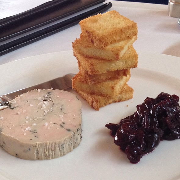 Cured Foie Gras With Cherry Chutney And Brioche Toast - Whitehouse-Crawford, Walla Walla, WA