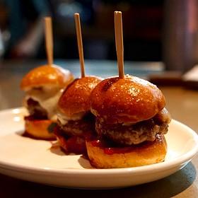 Iberico Ham-Burger  Sliders