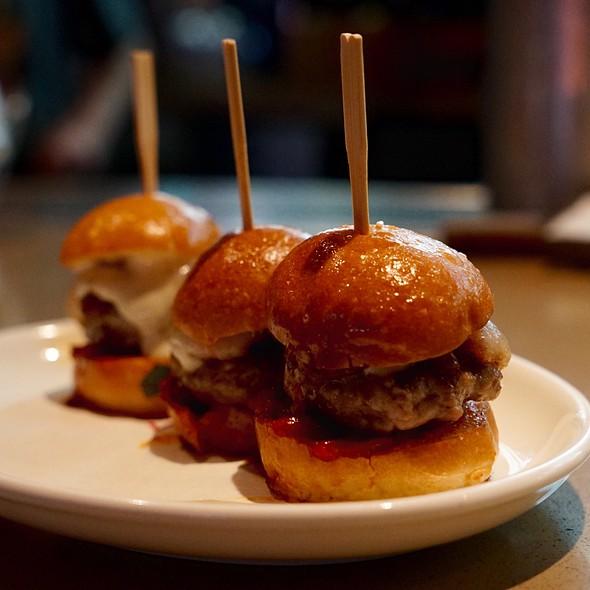 Iberico Ham-Burger  Sliders - Jaleo DC, Washington, DC