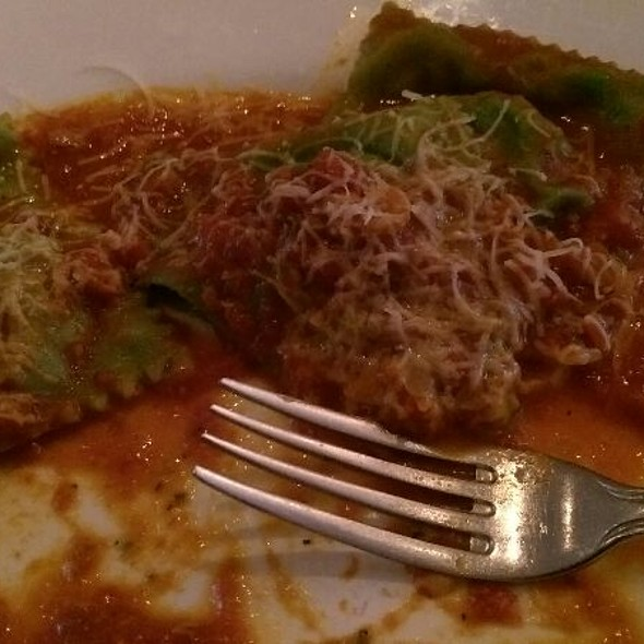 Spinach Ravioli - Sofia's of Little Italy, New York, NY