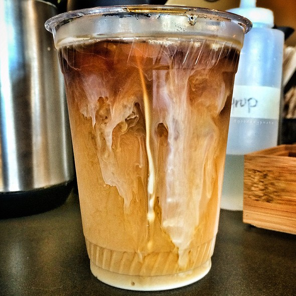 Iced Coffee @ Feldman's Bagels
