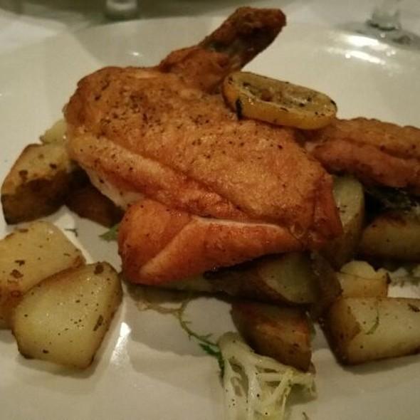 Pollo Mattone  - Fiamma Restaurant, Charlotte, NC