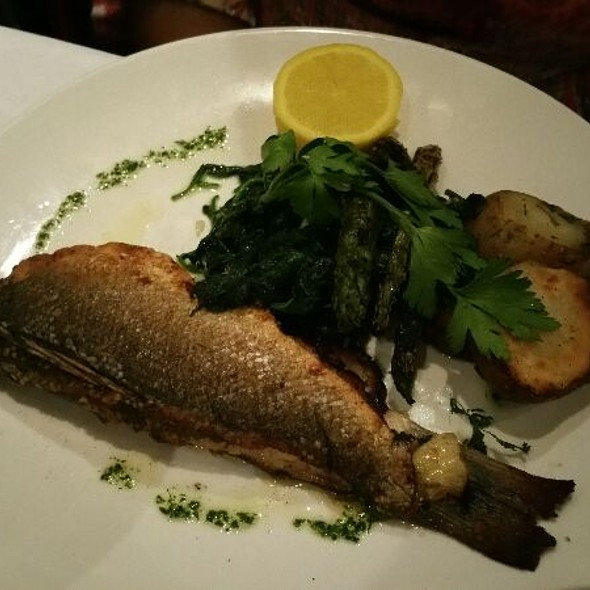Fish of the day - Fiamma Restaurant, Charlotte, NC