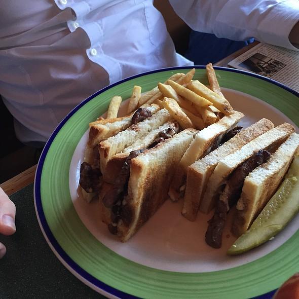 NY Steak Sandwich @ Buck's