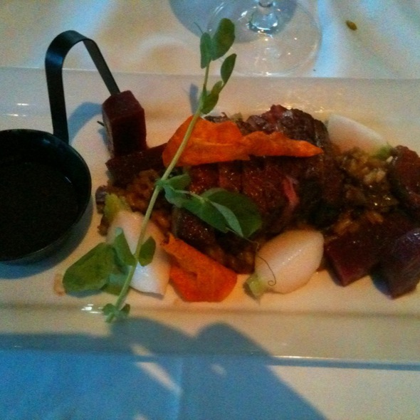 Duck Breast And Porcini Risotto - Breakwater Restaurant  - Waterside Inn, Mississauga, ON